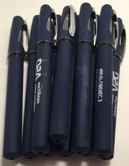 10 Count Misprint Bulk Gel Pens Soft Grip Navy blue Pens Blu