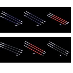 100x 0.5mm Black/Blue/Red Ink Gel Pen Refill Stationery Scho