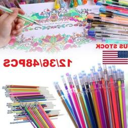 12/36/48pcs Gel Pens  Multifunction Drawing Painting Graffit