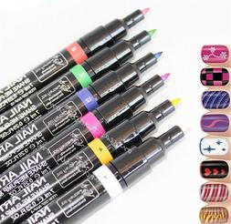 16 Color Nail Art Pen Painting Design Tool Drawing for UV Ge