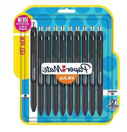 Paper Mate 1958764 InkJoy Gel Pens, Medium Point, Black, 10-