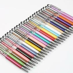 21 color diamond crystal pen fountain pen ball pen gift ball