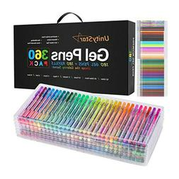 24 60 color gel pens refill coloring