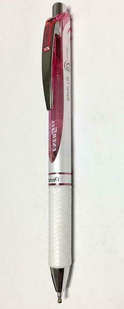 3 Pack Pentel EnerGel Pearl RTX Retractable Gel Pink Pen, Bl