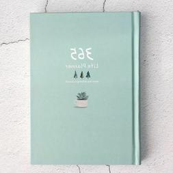 365 planner cute daily monthly weekly notebook
