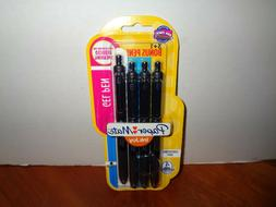 4 Paper Mate Inkjoy Gel Pens 0.7mm Med Point Retractable Com
