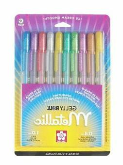 Sakura 57370 10-Piece Gelly Roll Blister Card Assorted Color