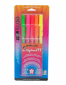 Sakura 58174 5-Piece Gelly Roll Blister Card Moonlight 06 Fi