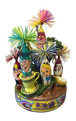 6 pc Limited Edition Alice In Wonderland Mad Hatter Kooky Pe