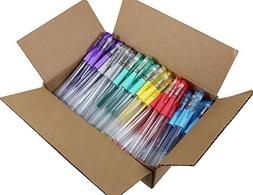 Sargent Art 96 Assorted Glitter Gel Pen Bulk Pack, 6 Colors