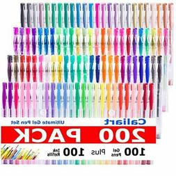 CLEARANCE SALE! Caliart 200 Gel Pens for Adult Coloring Book