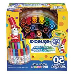Crayola 588750 Pip-Squeaks Telescoping Marker Tower, Assorte