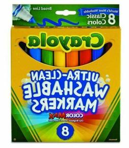 Crayola Washable Markers Assorted Colors