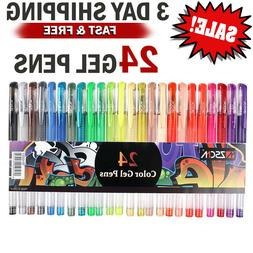 Everyday Essentials Gel Pens - Set of 100 Individual Colors