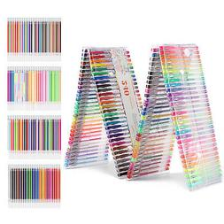 Gel Pens 120 Unique Colors Set and 120 Ink Refills For Adult