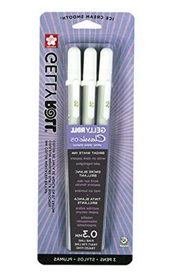 Sakura Gelly Roll Pen - Fine Point Gel Ink Pen - 3 PC Set -