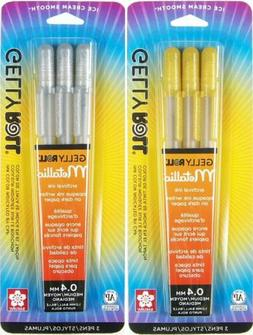 Sakura Gelly Roll Pen - Waterproof Gel Ink Pen - 3 PC Set -