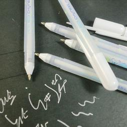White Gel Pen Drawing Pastel Gouache Ink Stationery Decor Di