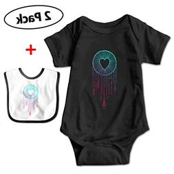 baby dream catcher short sleeve jumpsuit outfits