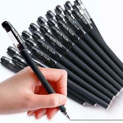 Black Gel Pen Full Matte Water Pens Student Writing Statione
