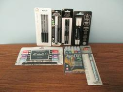 CHALK MARKERS, GEL PENS, SPECIALTY MARKERS, LEAFING PENS BY