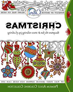 Adult Coloring Book, Color Your Way To CHRISTMAS, Premium Ad