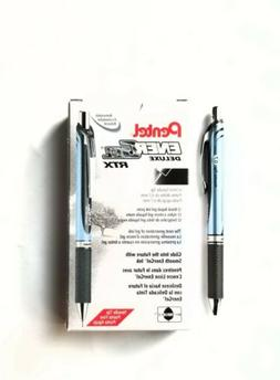 Pentel EnerGel Deluxe RTX Retractable Liquid Gel Pen, Needle