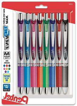 Pentel EnerGel RTX Retractable Liquid Gel Pen, Medium Line,