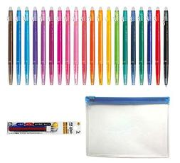 Pilot FriXion Ball Slim Retractable Erasable Gel Ink Pens, E
