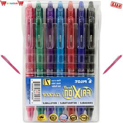 Pilot FriXion Clicker Retractable Erasable Gel Pens Fine Poi