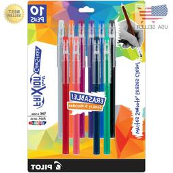 PILOT FriXion Color Sticks Erasable Gel Pens, 10-pack of Ass
