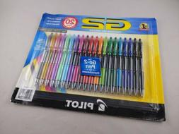 Pilot G2 Premium Gel Roller Fine 0.7mm Assorted Color Japan,