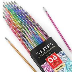 Arteza Gel Ink Pen Refills - Multicolor -