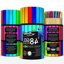 ZenZoi Gel Ink Pens Set – Quick Dry Non-Toxic Artist-Quali