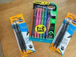 Bic Gel-ocity Gel Pens. Lot of 3. 0.7 mm. Free Shipping.