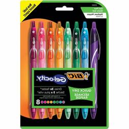 BIC Gel-ocity Quick Dry Retractable Gel Pen, Medium Point