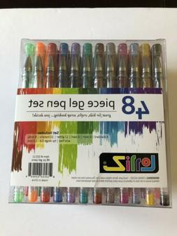LolliZ Gel Pens 48 Gel Pen Tray Set