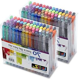 LolliZ Gel Pens 70 Pen Tray Set - Set of 2 Free Shipping