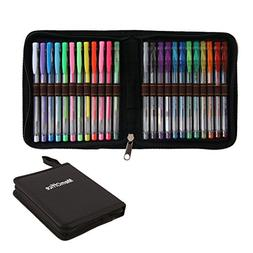 MemOffice Gel Pens Set of 24 Pieces for Adult Coloring Book