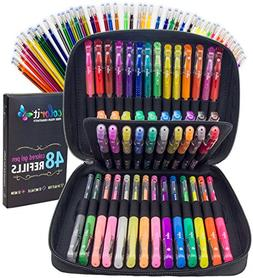 ColorIt Gel Pens For Adult Coloring Books – Premium Ink Ge