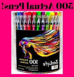 Gel Pens Set Pack Metallic Glitter Neon For Drawing Adult Co