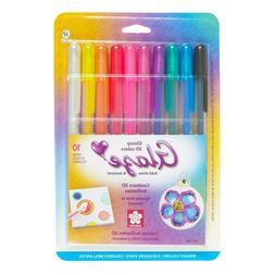 Sakura Gelly Roll Gel Pen Set, Carded pack of 10 Pens, Choos