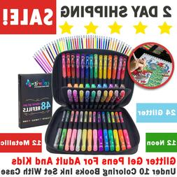 glitter gel pens for adult and kids
