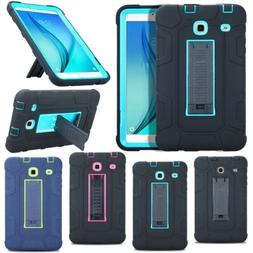 Heavy Duty Case Hybrid Rubber PC Stand Cover For Samsung Gal