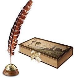 Hogwarts Writing Quill with Stand
