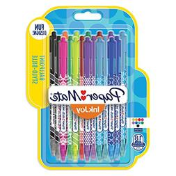 Paper Mate InkJoy 100 RT Wrap Ballpoint Pens, Retractable Me