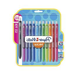 Paper Mate Inkjoy 12-Pack Assorted Colors Medium Point Offic