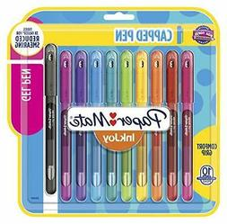Paper Mate InkJoy Gel Pens Medium Point  Capped, 10 Count, A