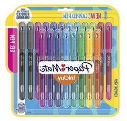 InkJoy Gel Pens, Medium Point  Capped, 20 Count, Assorted Co