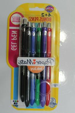 Paper Mate Inkjoy Gel Pens Medium Point  Assorted 4 Pack 195